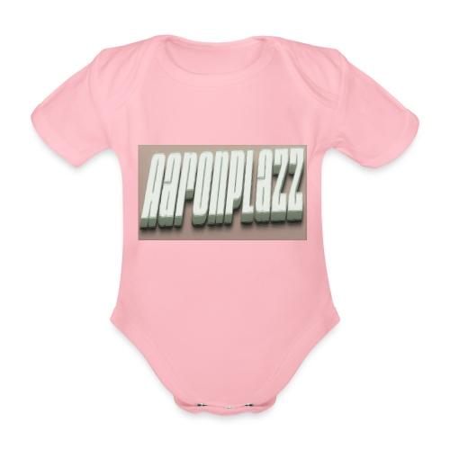 Aaronplazz - Organic Short-sleeved Baby Bodysuit
