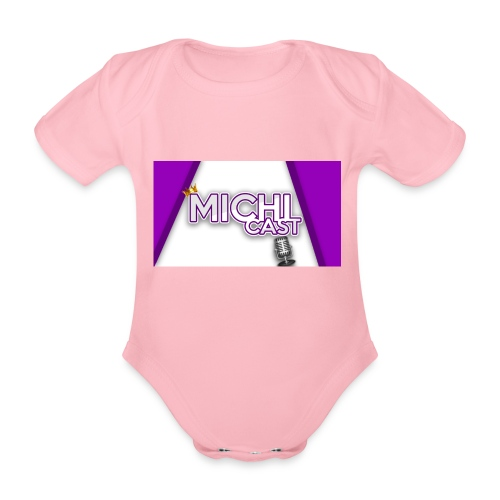 Camisa MichiCast - Organic Short-sleeved Baby Bodysuit