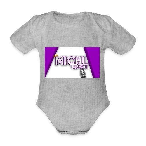 Camisa MichiCast - Organic Short-sleeved Baby Bodysuit