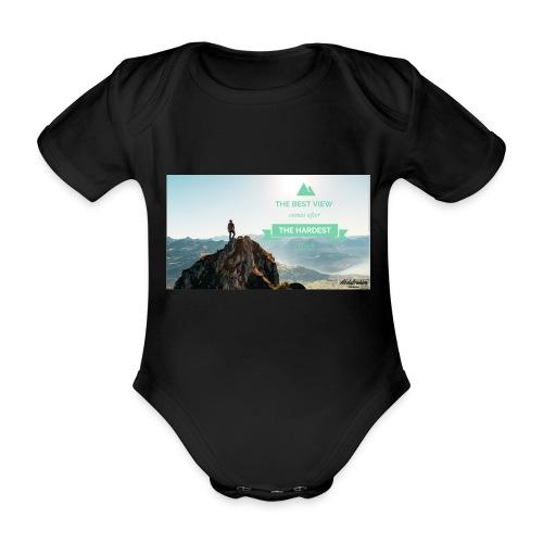 fbdjfgjf - Organic Short-sleeved Baby Bodysuit