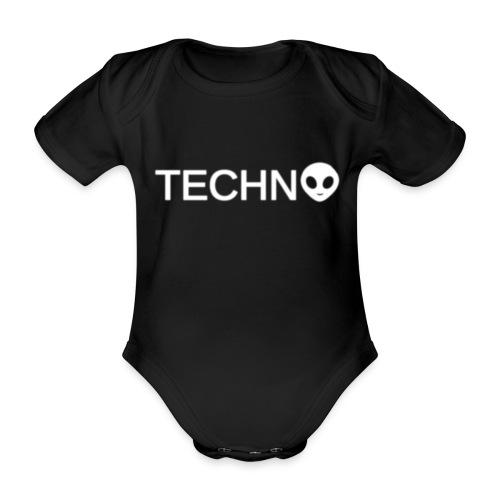 TECHNO3 - Ekologisk kortärmad babybody