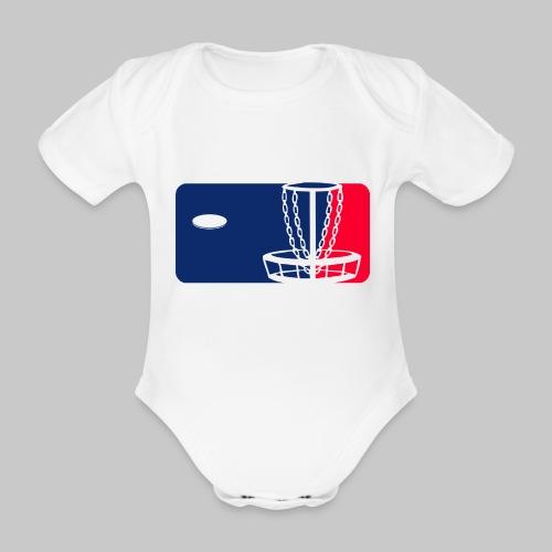 Major League Frisbeegolf - Vauvan lyhythihainen luomu-body
