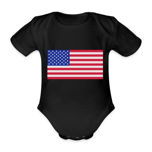 USA / United States - Baby bio-rompertje met korte mouwen