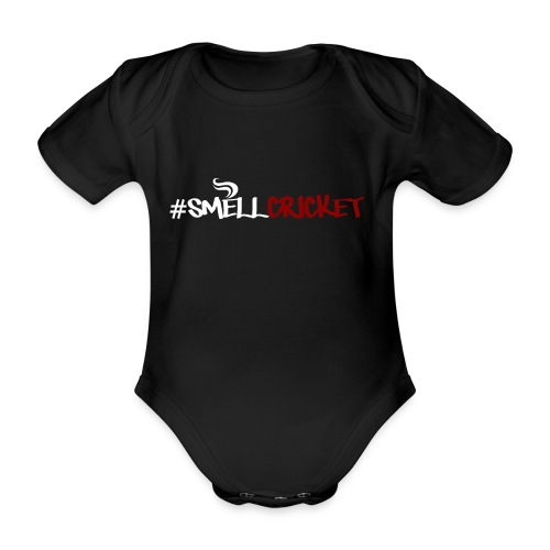 SmellCricket16 - Organic Short-sleeved Baby Bodysuit