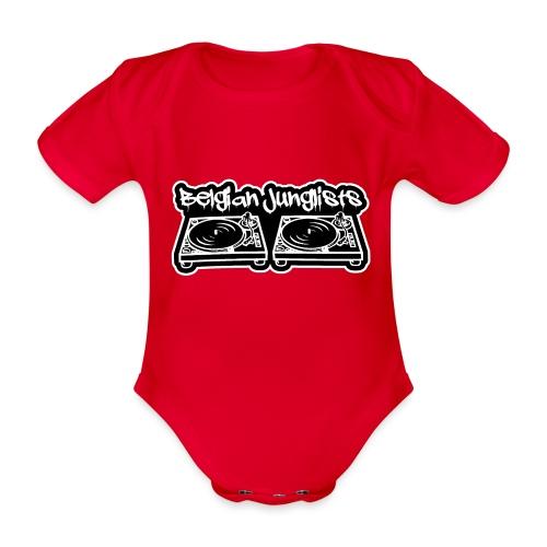 Belgian Junglists 2 - Organic Short-sleeved Baby Bodysuit