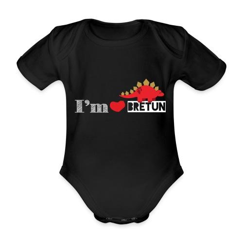 IM CORAZON BRETUN - Body orgánico de manga corta para bebé