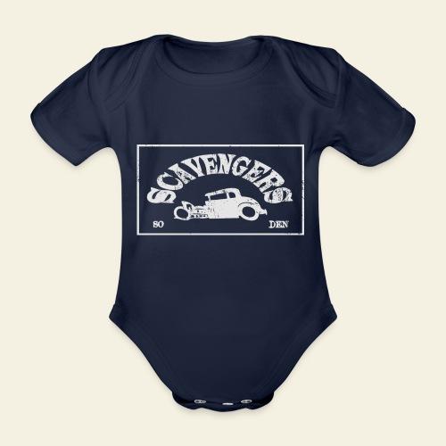 scavengers1 - Kortærmet babybody, økologisk bomuld