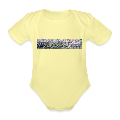 Pye and Fek No Escape - Organic Short-sleeved Baby Bodysuit