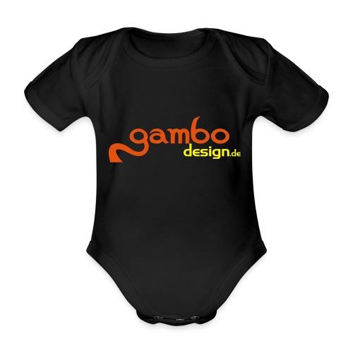 gambo design - Baby Bio-Kurzarm-Body