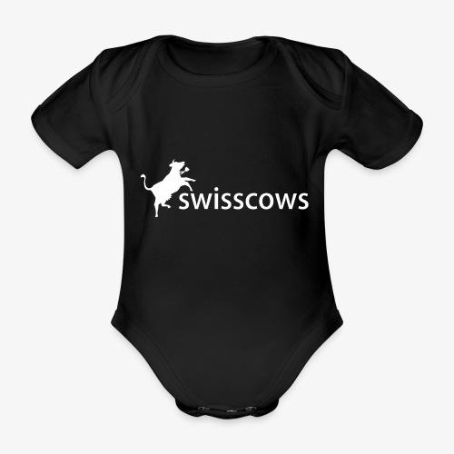 Swisscows - Logo - Baby Bio-Kurzarm-Body