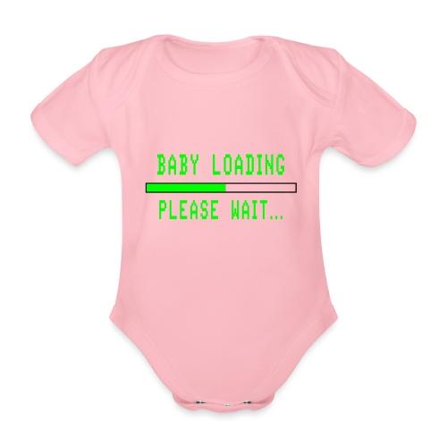 Baby Loading - Vauvan lyhythihainen luomu-body