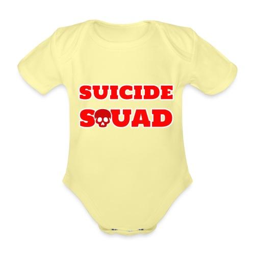 Team cattivi - Body ecologico per neonato a manica corta