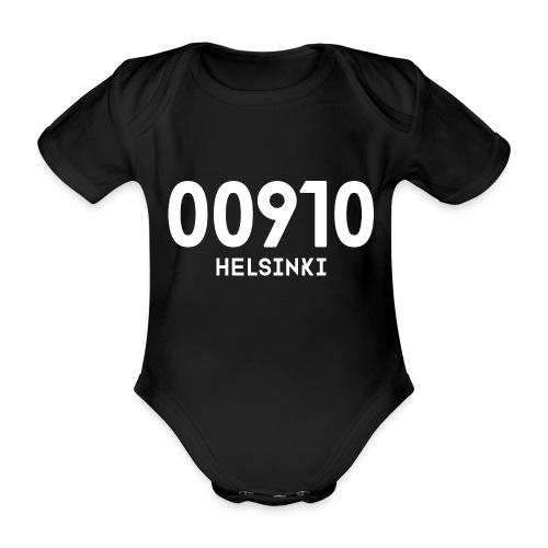 00910 HELSINKI - Vauvan lyhythihainen luomu-body