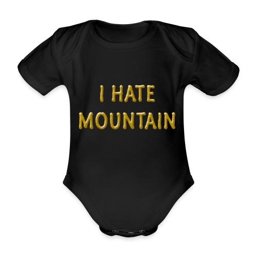 hate mountain - Baby Bio-Kurzarm-Body