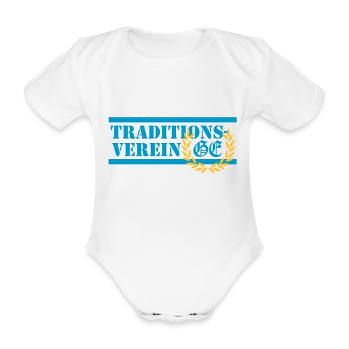 Traditionsverein - Baby Bio-Kurzarm-Body