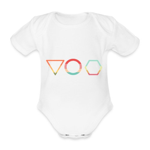 Abc t shirt - Ekologisk kortärmad babybody