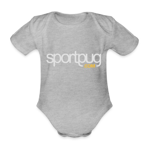 SportPug.com - Vauvan lyhythihainen luomu-body