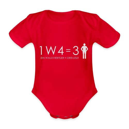 Teddy - Baby Bio-Kurzarm-Body