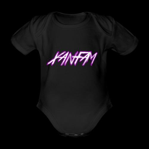 XANFAM (FREE LOGO) - Baby Bio-Kurzarm-Body