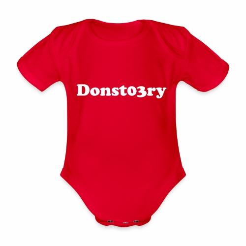 donst03ry name - Organic Short-sleeved Baby Bodysuit
