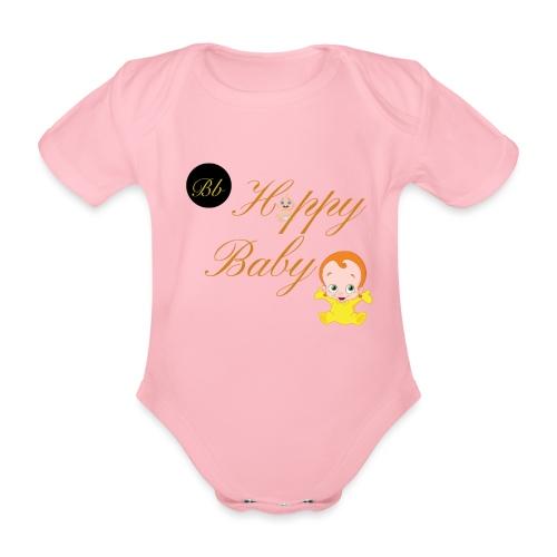 Happy Baby - Billionaire Designs - Organic Short-sleeved Baby Bodysuit