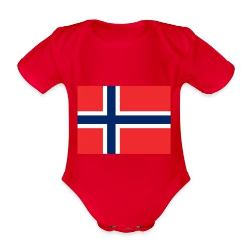 DixieMertch - Økologisk kortermet baby-body