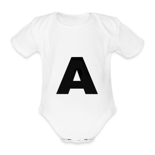 A-685FC343 4709 4F14 B1B0 D5C988344C3B - Kortærmet babybody, økologisk bomuld