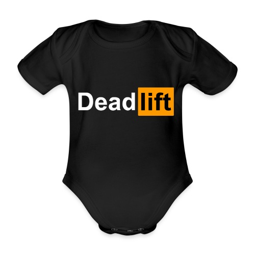 DeadLift X - Body Bébé bio manches courtes
