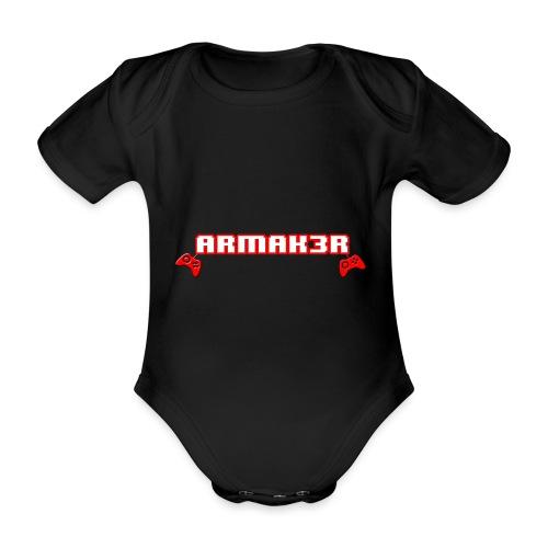 ARMAK3R 2nd Edition - Body ecologico per neonato a manica corta