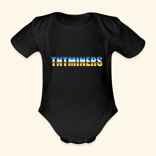 TntMiners annan färg 2 - Ekologisk kortärmad babybody