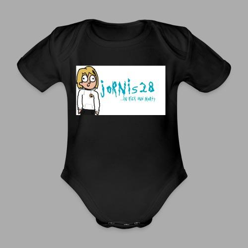 Jornis28-Rick ad Morty collection - Baby Bio-Kurzarm-Body