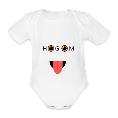 HetGameMisterie Logo - Baby bio-rompertje met korte mouwen