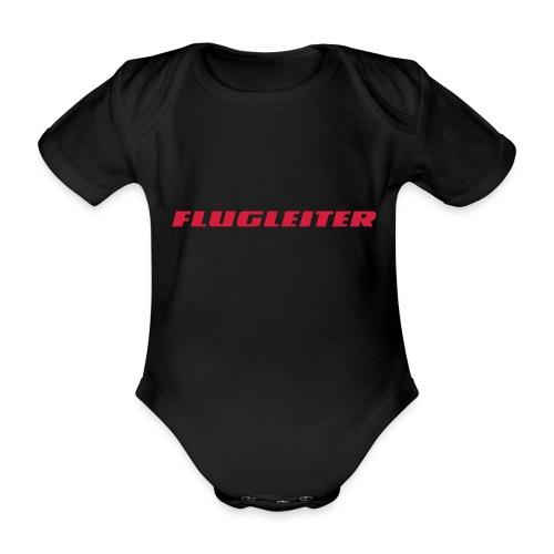 flugleiter - Baby Bio-Kurzarm-Body