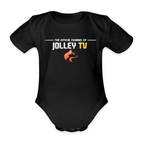 JolleyTV logo - Organic Short-sleeved Baby Bodysuit