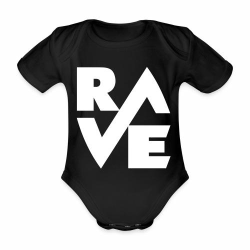 rave - Baby Bio-Kurzarm-Body