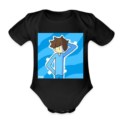 George Morgan West - Organic Short-sleeved Baby Bodysuit