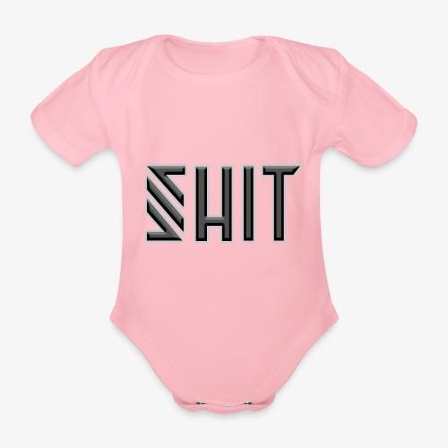 shit - Organic Short-sleeved Baby Bodysuit