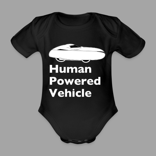 Quest Human Powered Vehicle 2 white - Vauvan lyhythihainen luomu-body