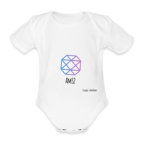 8BE180FF A03D 4C99 B528 99798168447D - Ekologisk kortärmad babybody