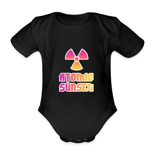 ATOMIC SUNSET - Body Bébé bio manches courtes