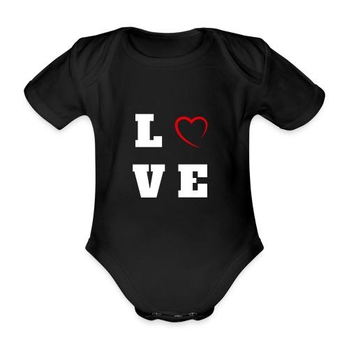 Love 2 - Body Bébé bio manches courtes