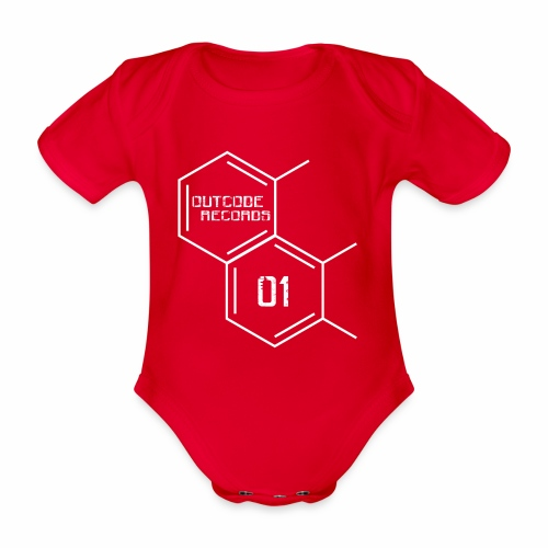 Outcode 01 - Body orgánico de maga corta para bebé