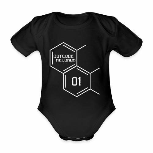 Outcode 01 - Body orgánico de manga corta para bebé