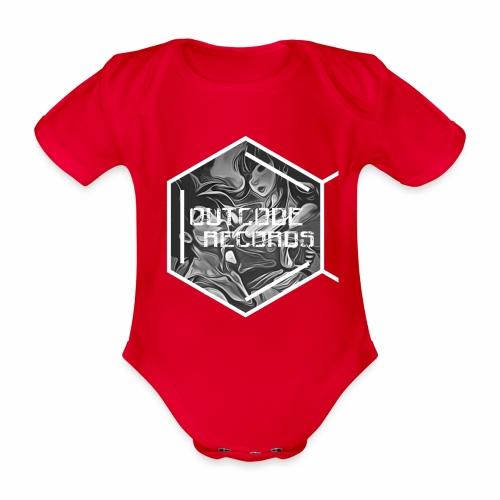 Outcode Records Art - Body orgánico de maga corta para bebé