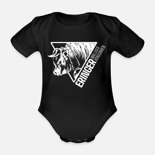 ERINGER TRIANGLE - Baby Bio-Kurzarm-Body