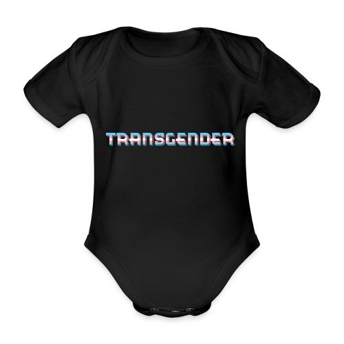 TRANSGENDER   Flagge   LGBT - Baby Bio-Kurzarm-Body