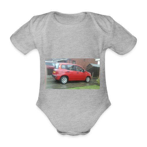 AWESOME MOVIES MARCH 1 - Organic Short-sleeved Baby Bodysuit