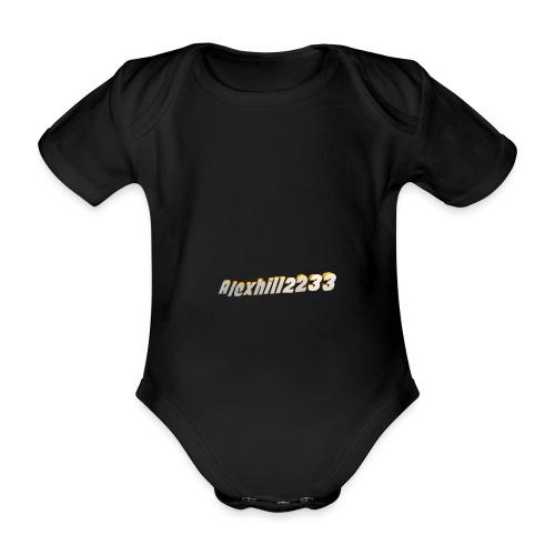 Alexhill2233 Logo - Organic Short-sleeved Baby Bodysuit