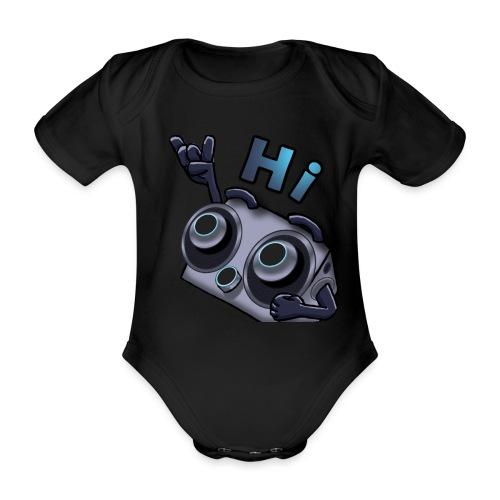 The DTS51 emote1 - Baby bio-rompertje met korte mouwen