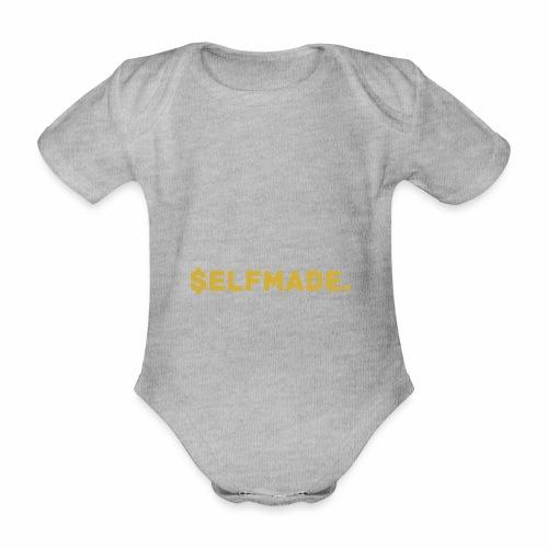 Millionaire. X $ elfmade. - Organic Short-sleeved Baby Bodysuit